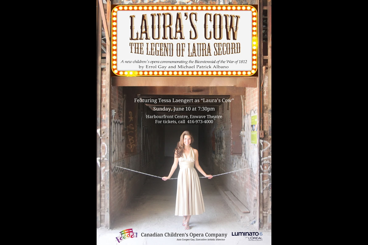 Laura's Cow poster